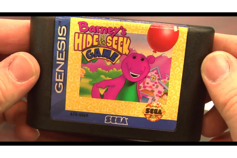 Classic Game Room - BARNEY'S HIDE & SEEK GAME review for ...