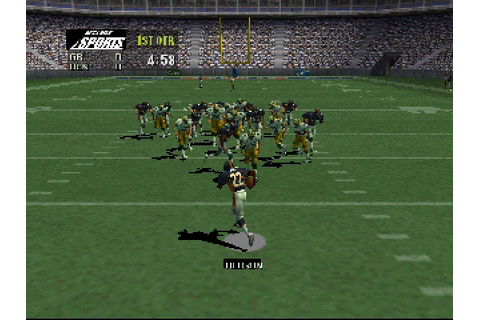 NFL Quarterback Club 99 (1998) by Iguana Entertainment N64 ...
