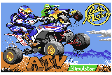 ATV Simulator (1987) by Digital Persuasion C64 game