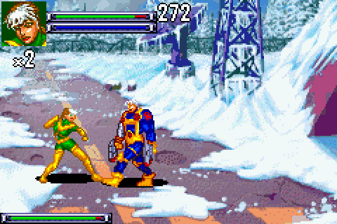 VGJUNK: X-MEN: REIGN OF APOCALYPSE (GAME BOY ADVANCE)