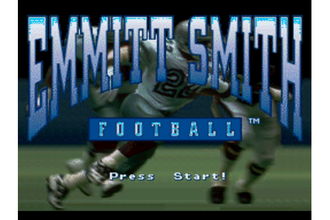 Emmitt Smith Football Screenshots | GameFabrique