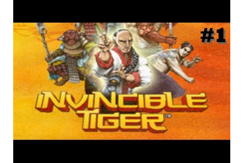 INVINCIBLE TIGER: The Legend of Han Tao (2013) LET'S PLAY ...
