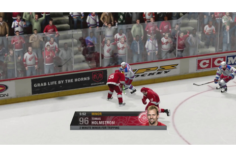 NHL 07 (X360) - Rangers vs Red Wings - Full Game [1080p HD ...