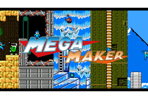 Mega Man Maker - Create your own Mega Man levels ...