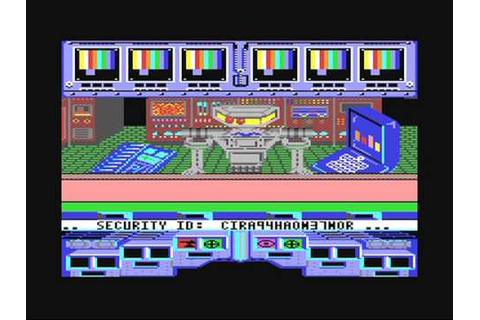 Commodore 64: Koronis Rift game ending by Activision and ...