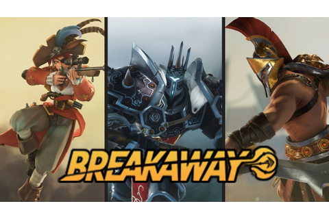 """BreakAway"" First Look! Free To Play Sport MOBA - YouTube"