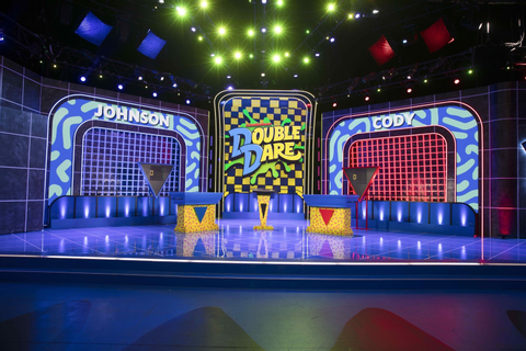 NickALive!: First Look At The New 'Double Dare' On Nickelodeon