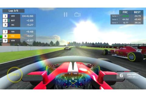 F-1 Race auf Qwant Games
