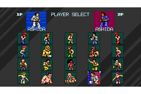 Double Dragon IV - All Characters - YouTube