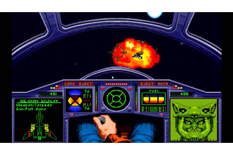 Wing Commander II Mission 28 K'Tithrak Mang 1 - YouTube
