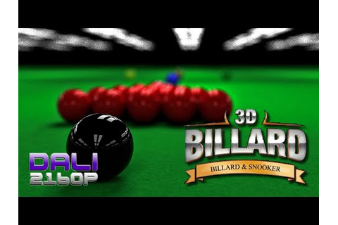 3D Pool: Billiards and Snooker (Snooker) PC Gameplay 60fps ...