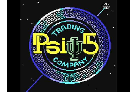 Music from C64 game PSI-5 Trading Company - YouTube