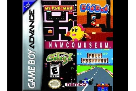 NAMCO MUSEUM: MS. PAC-MAN GAMEBOY ADVANCE CLASSIC RETRO ...