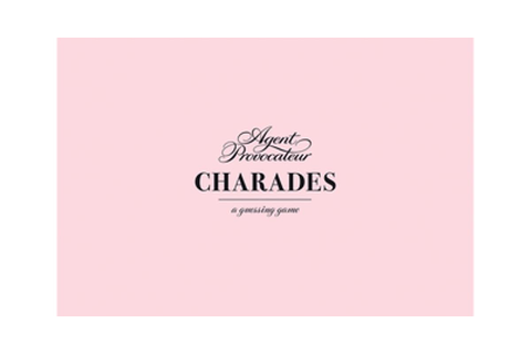 Agent Provocateur: Charades: A Guessing Game by Agent ...