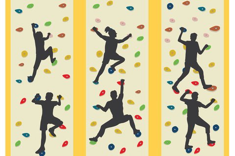Climbing Wall Vector Free Vector Download 369133 | CannyPic