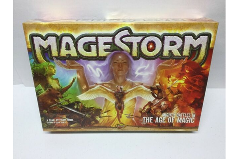 Nexus Games: Magestorm Board Game - The Age of Magic (New ...