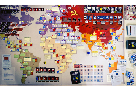 Twilight Struggle a board game to change Cold War - ONSG