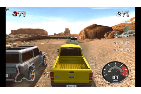 Ford Racing Off Road /4x4 Truck Racing Games / Nintendo ...