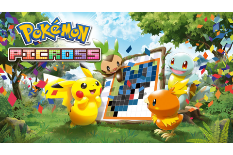 Turn Puzzles into Portraits with Pokémon Picross! - YouTube