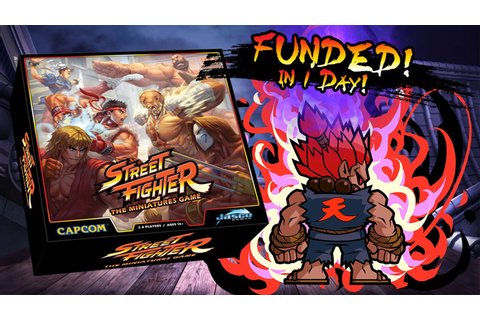 Street Fighter: The Miniatures Game by Jasco Games ...