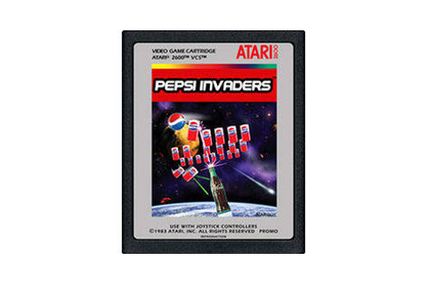 Pepsi Invaders - Atari 2600 game