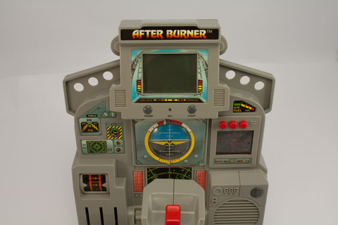 After Burner LCD Tabletop by Tiger Electronics - LCD Video ...