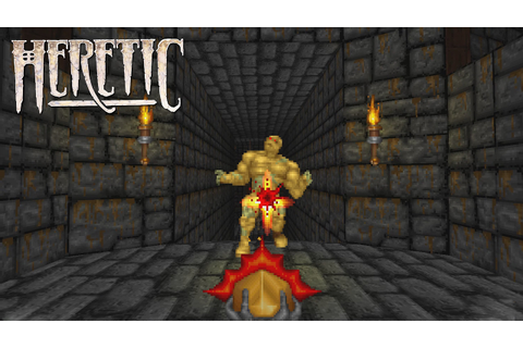 Heretic (PC) Gameplay - YouTube