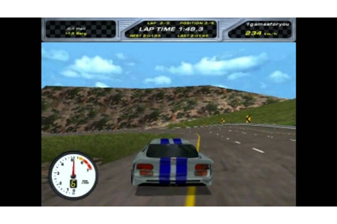 Viper Racing ( from 1998 ) gameplay - YouTube