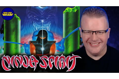 Ninja Spirit - Turbografx 16 Game Review | Friday Night ...