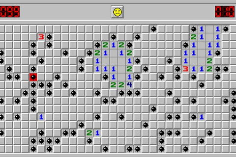 Microsoft Minesweeper on Qwant Games