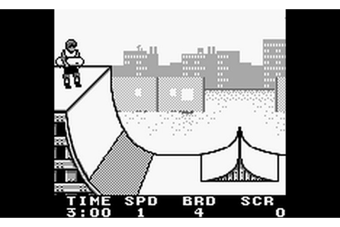 Play Skate or Die - Tour de Thrash (USA) • Game Boy GamePhD