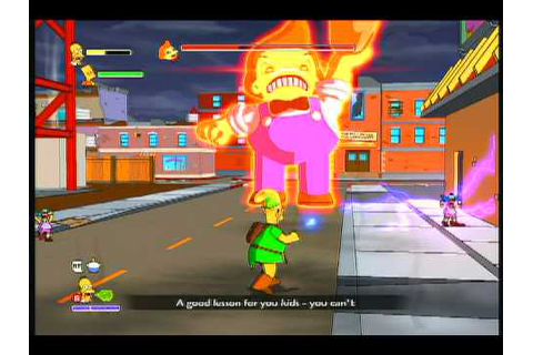 The Simpsons Game | Lard Lad - Boss | Xbox 360 - YouTube