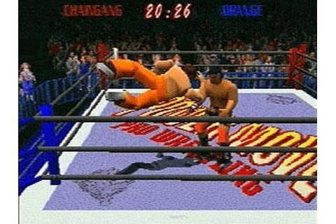 Power Move Pro Wrestling (1996) by Activision PS game