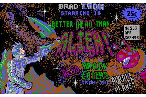 Better Dead Than Alien! Download (1988 Arcade action Game)