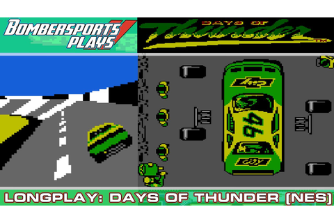 CONQUERING MY DEMONS! Days of Thunder [NES, 1990 ...