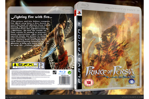 Prince of Persia: The Fallen King PlayStation 3 Box Art ...