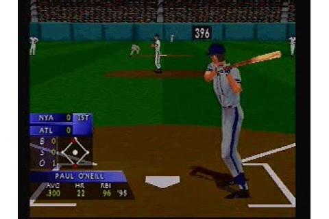 3D Baseball PSX PS1 1996 - YouTube