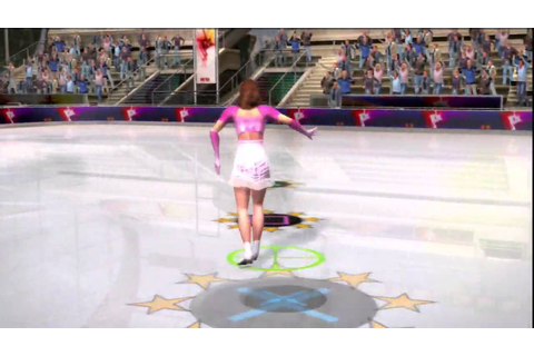 Winter Sports 2010 (PS3) Gameplay: Figure Skating - YouTube