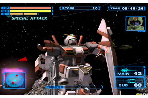 Mobile Suit Gundam - Encounters in Space (USA) PS2 / Sony ...