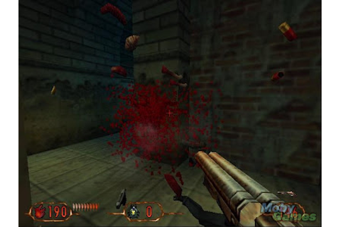 highly compressed games free download: Blood II : The Chosen