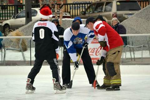 RCPD/RCFD broomball game marks 10 years of friendly ...