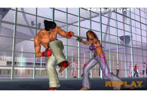 Tekken 4 - Gameplay PS2 HD 720P - YouTube