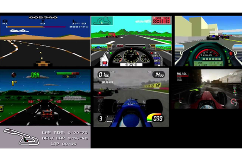 Evolution of F1 Games - YouTube