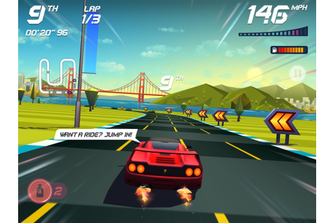 Fun arcade-style racer: Horizon Chase-World Tour for iPad ...