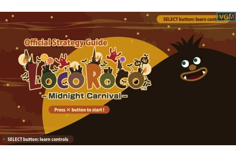 LocoRoco - Midnight Carnival - Official Strategy Guide for ...