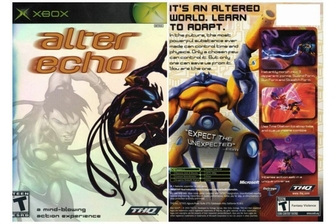 ~* Original Microsoft XBOX : ALTER ECHO Game *~ | eBay