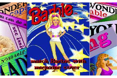 Barbie Super Model Download (1993 Educational Game)