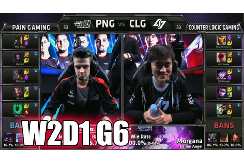 CLG vs paiN Gaming Game 2 | Week 2 Day 1 Group A LoL S5 ...