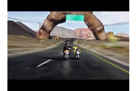 New Road Rash Game - Road Redemption Trailer (2013) - YouTube