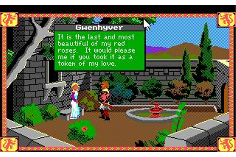 Conquests of Camelot Download (1990 Adventure Game)